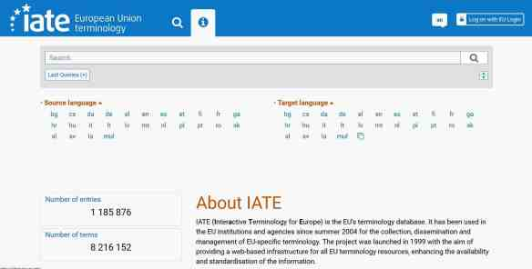 The new IATE is online! -