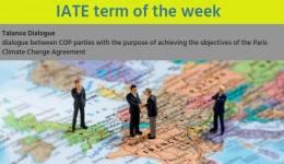 IATE Term of the Week: Talanoa Dialogue