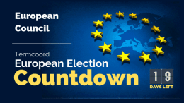 Termcoord European Election Countdown: European Council