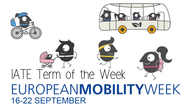 IATE Term of the Week: European Mobility Week