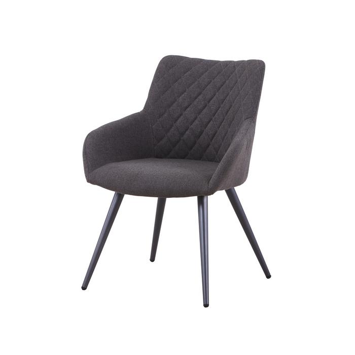 Кресло DC83002 текстиль темно-серый