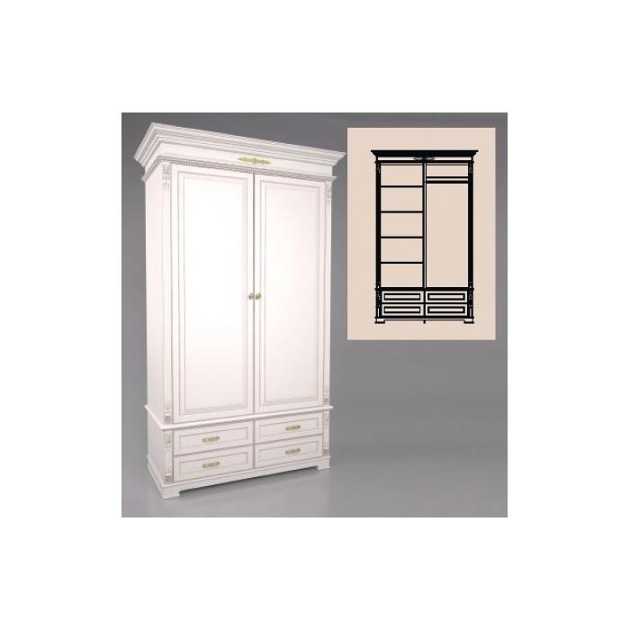 Шкаф 2-х дверный А-10-1325 (5)