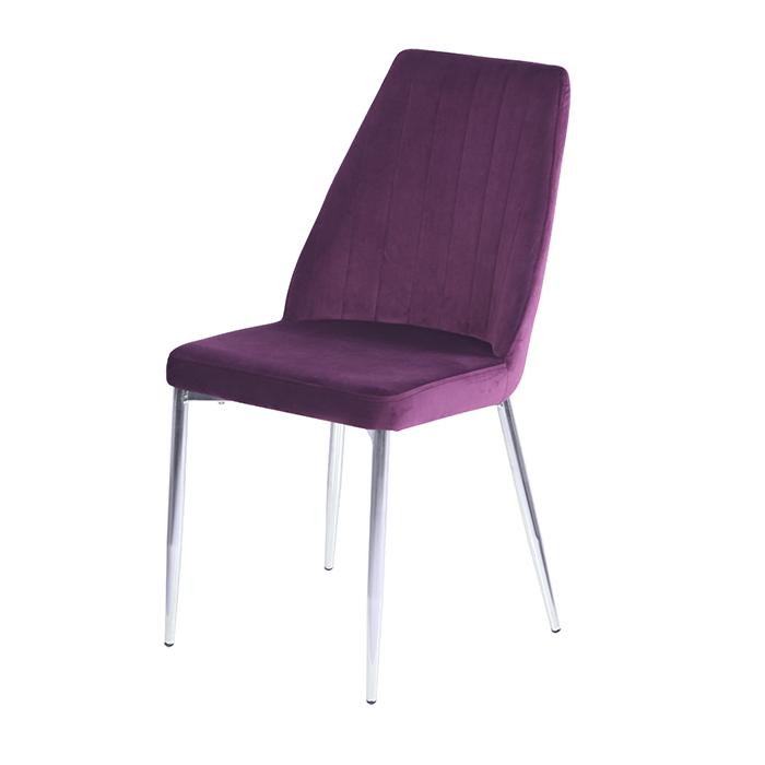 OKC-1041 велюр фиолетовый