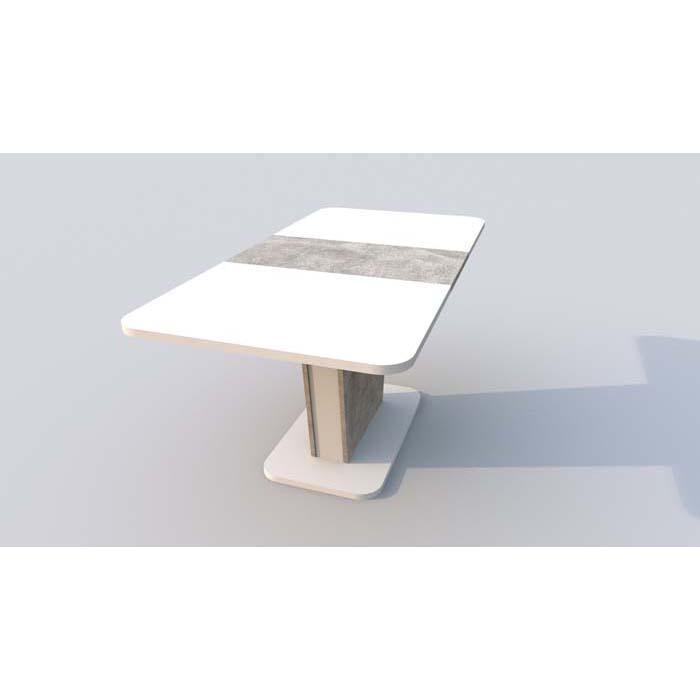 Стол обеденный CINDY 120/160*80*h75