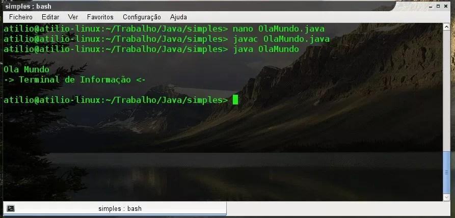 Compilação e execução em Linux