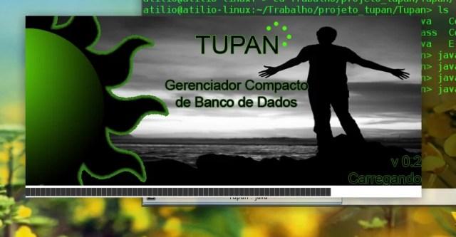 Splash Screen do Tupan