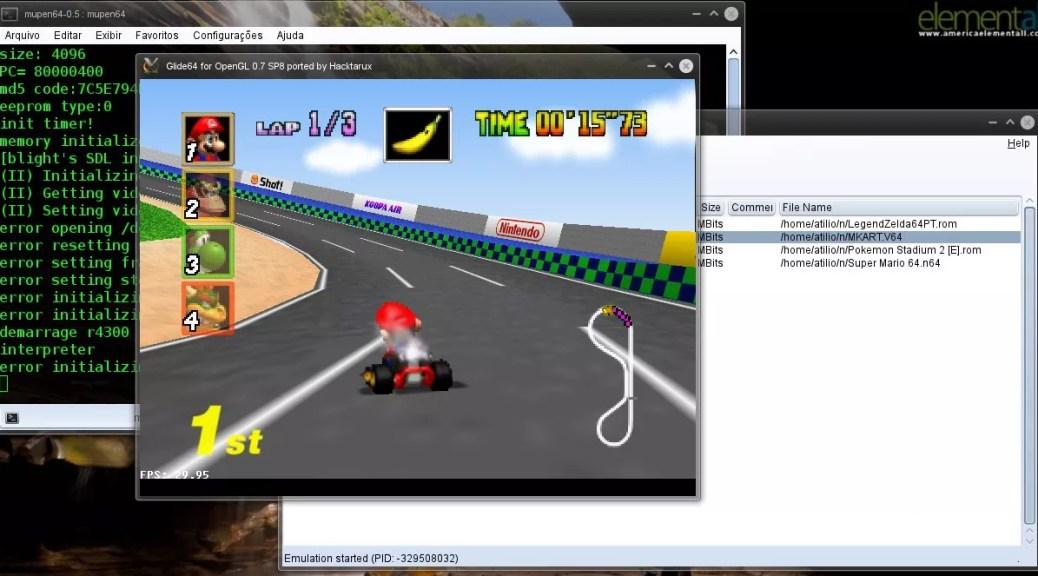Emulador Mupen64