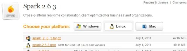 Download Spark - Linux