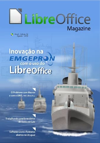 Capa da LibreOffice Magazine 12