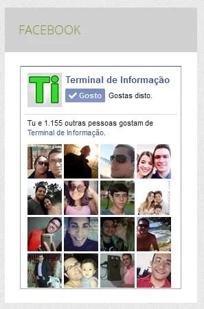 Widget do Facebook