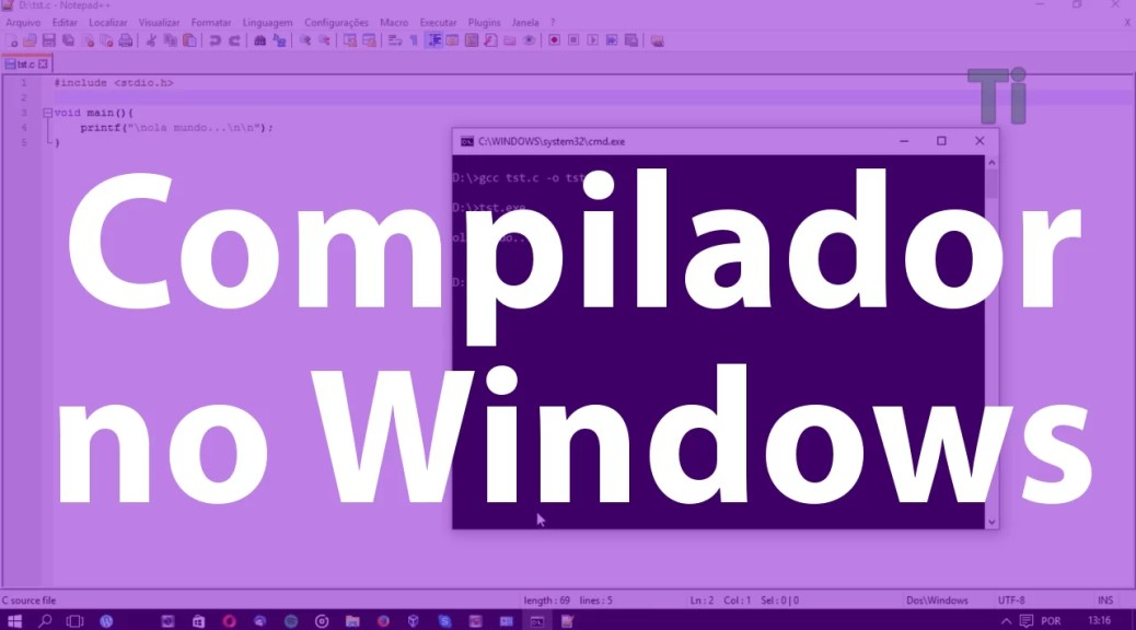 Compilador no Windows