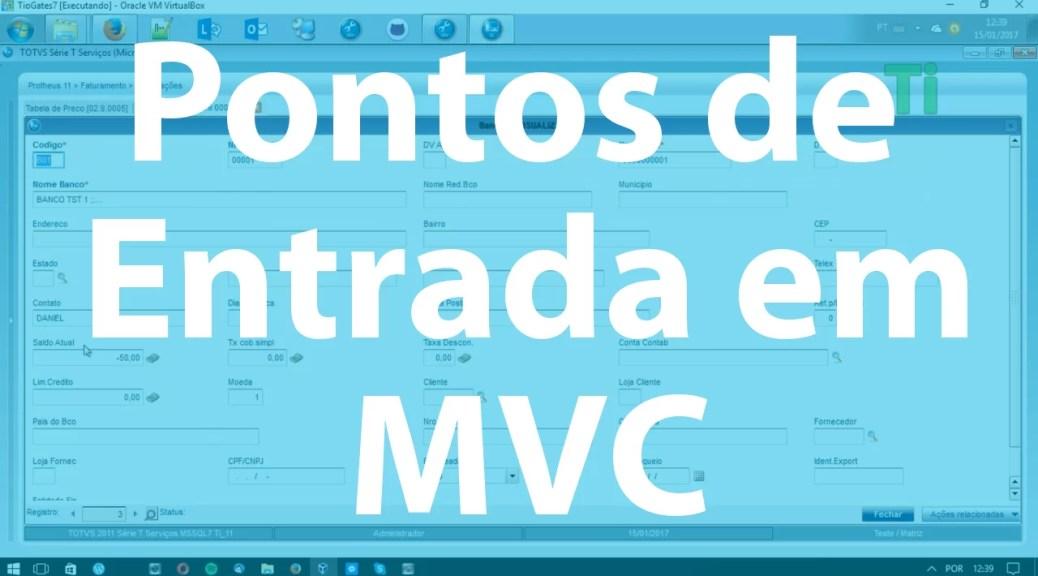 Pontos de Entrada em MVC