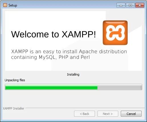 Instalando o XAMPP