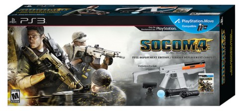 PlayStation Move Socom 4 Bundle