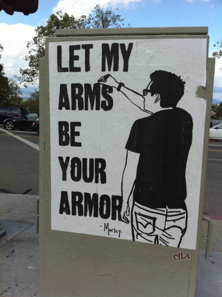 Let My Arms Be Your Armor