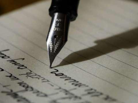 escribir con pluma fuente