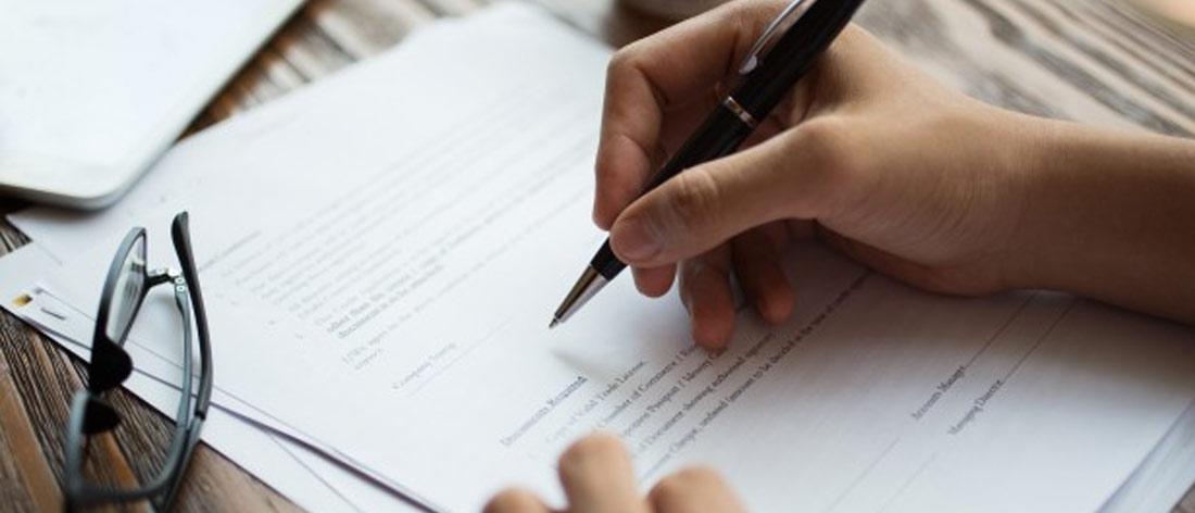 perjanjian kerja dan berkas