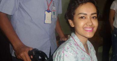 Julia Perez Jalani Pengobatan Cuci Darah di Jakarta Pusat