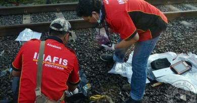 4 Anak Remaja Tewas Tertabrak Kereta Api Turangga Setelah Sahur