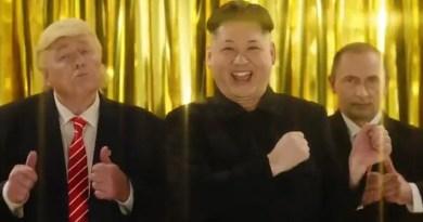 Donald Trump, Kim Jong Un, dan Vladimir Putin Akhirnya Bersatu, Begini Penampakannya!
