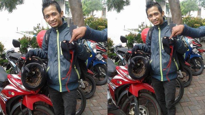 Parkir Motor Dan Tinggalkan Helm Di Jok Pria Ini Terkejut Saat Kembali