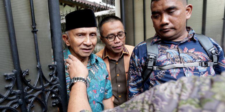 Pengakuan Amien Rais Soal Terima Aliran dana Kasus Alkes