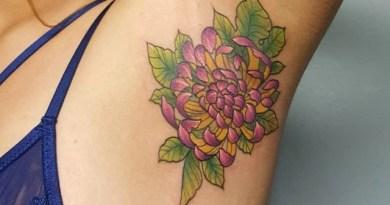 Tatto di Ketiak Jadi Tren Baru yang Viral di Instagram
