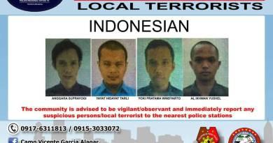 Terlibat ISIS 4 WNI yang Diburu polisi Filipina