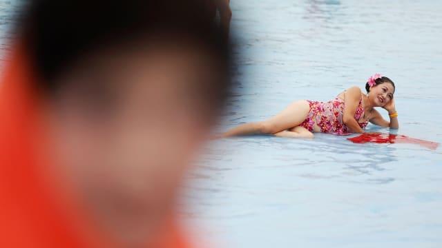 Grandbikini, Kontes Bikini yang Pesertanya Paruh Baya di China