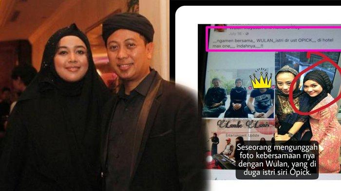 Wulan Diduga Istri Kedua Opick Kirim Kata Mesra, Dian pun Geram