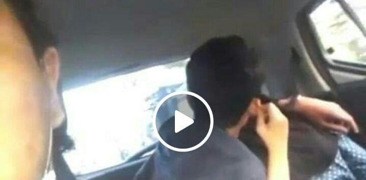 Sopir Ikutan Asyik Akibat Siswi SMP Ciuman di Mobil