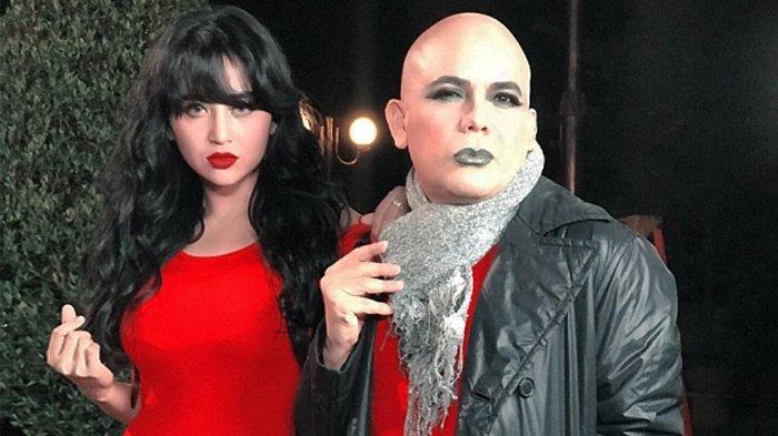 Dewi Perssik Adu Akting dengan Ozy Syahputra