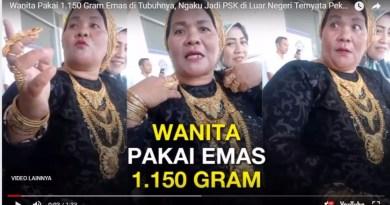 Viral Wanita Bugis Ngaku Jadi PSK di Luar Negeri Pakai 1.150 Gram Emas