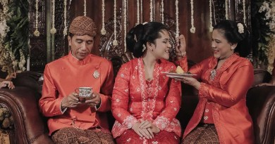 Ekspresi Joko Widodo Lepas Putri Satu-Satunya Menikah