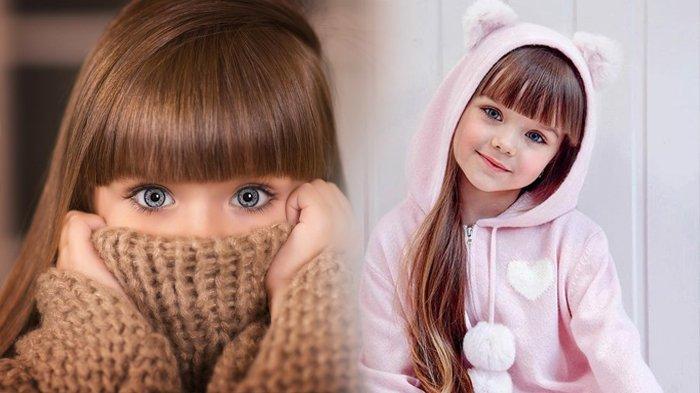 Anastasiya Knyazeva, Gadis Diklaim Sebagai Anak Tercantik di Dunia