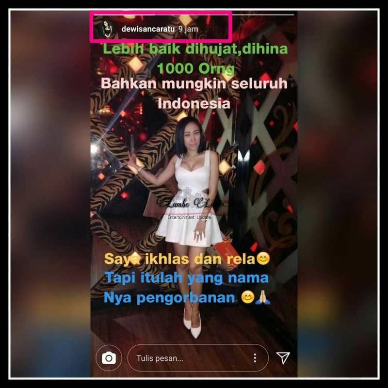 Dibully, Baju Terlalu Seksi ini Reaksi Dewi Sanca
