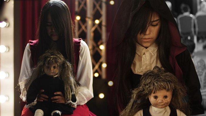 Inilah Aksi Aksi Mencekam The Sacred Riana di Asia's Got Talent
