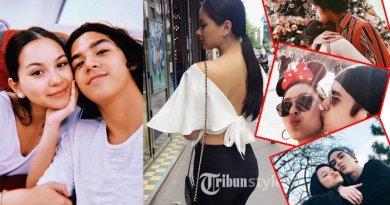 7 Photo Mulusnya Kulit Alyssa Daguise Bikin Al Ghazali Lengket!