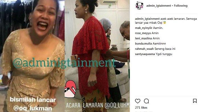 Okky Lukman Dikabarkan Gelar Lamaran Begini Penampilan Anggunnya