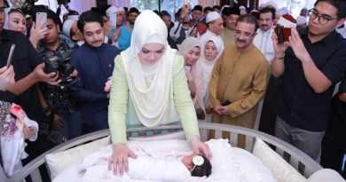 Menggelar Acara Aqiqah Anak Siti Nurhaliza Seperti Pesta Pernikahan