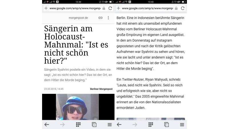 Pose Syahrini di Holocaust Jadi Sorotan Media Lokal Jerman