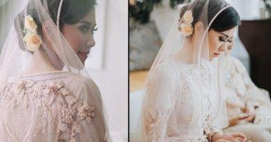 Syahnaz Sadiqah dalam Balutan Kebaya Adat Sunda Menjelang Pernikahan