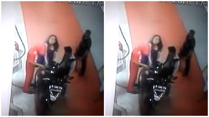 Video Viral, Petugas SPBU Ditampar 3 Kali oleh Ibu-ibu