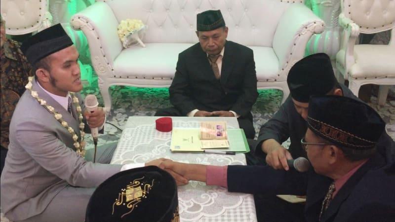 Caisar Resmi Menikah Dengan Mantan Sopir Indadari, Almaratu Intan