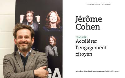 Jérôme Cohen, Engage : accélérer l'engagement citoyen