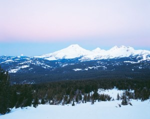 Three Sisters in the Oregon Cascades