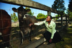 Helen Diggs has responsibility for the more than 600,000 research and teaching animals at Oregon State. (Photo: Frank Miller)