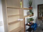 Dann schnell noch übergestrichen und die ersten Möbel reingestellt ...