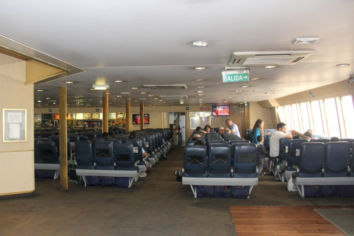 Interior do ferry
