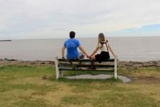 Contemplando o Rio da Plata